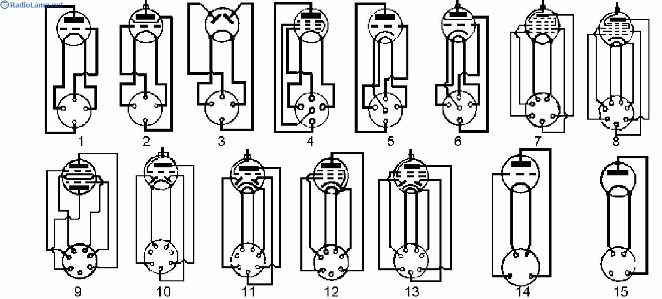3 - двуханодный кенотрон;