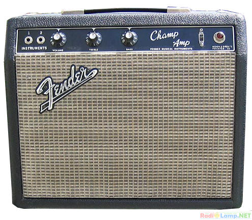 Fender Blackface Champ amplifier усилитель фото