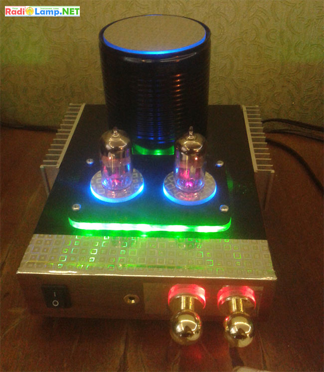 Лампово-транзисторный УНЧ для наушников и АС