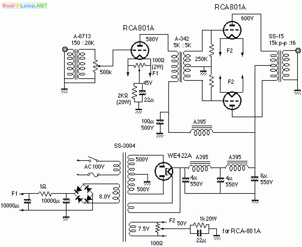 Схема простого усилителя мощности фото 540