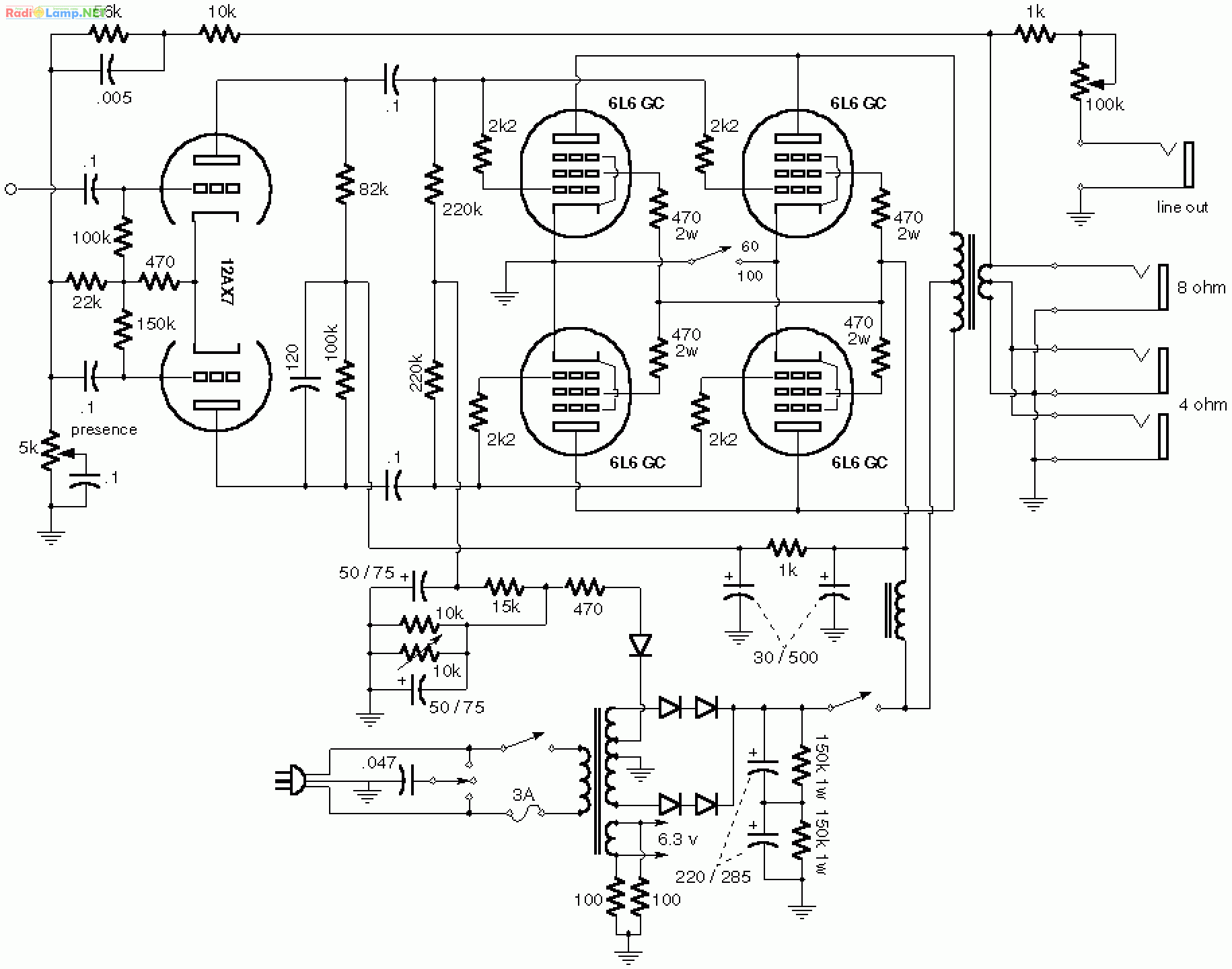 6aq5 tube schematics  6aq5  free engine image for user manual download