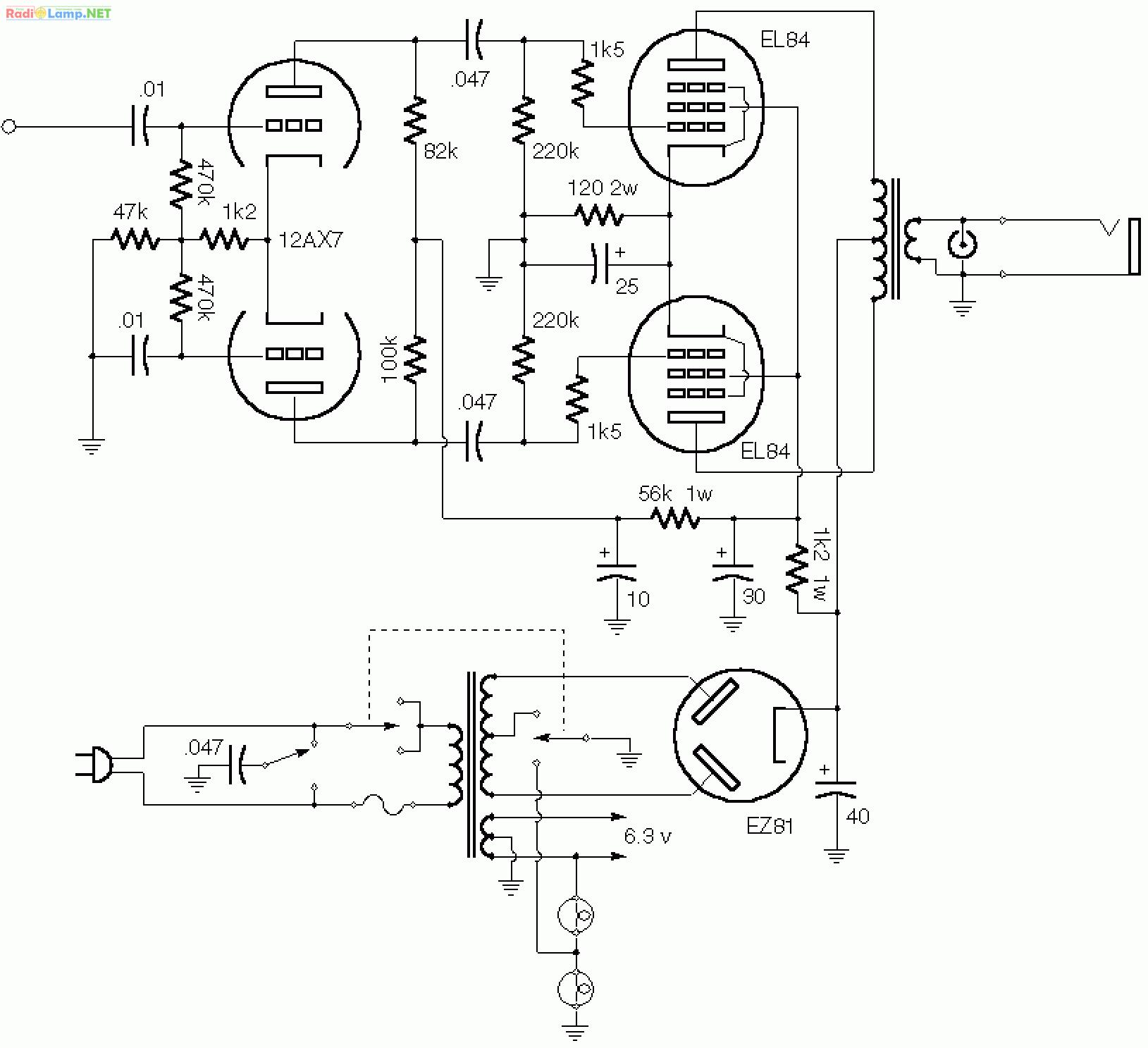 vox berkeley power amp