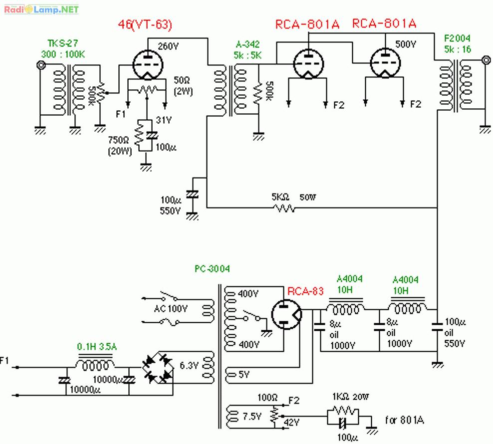 Схема однотактного усилителя мощности фото 15