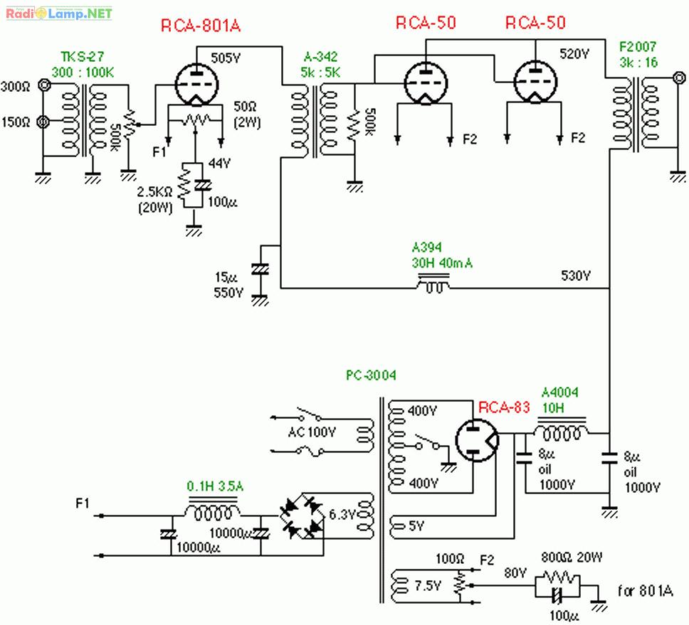 Схема усилителя мощности передатчика фото 665