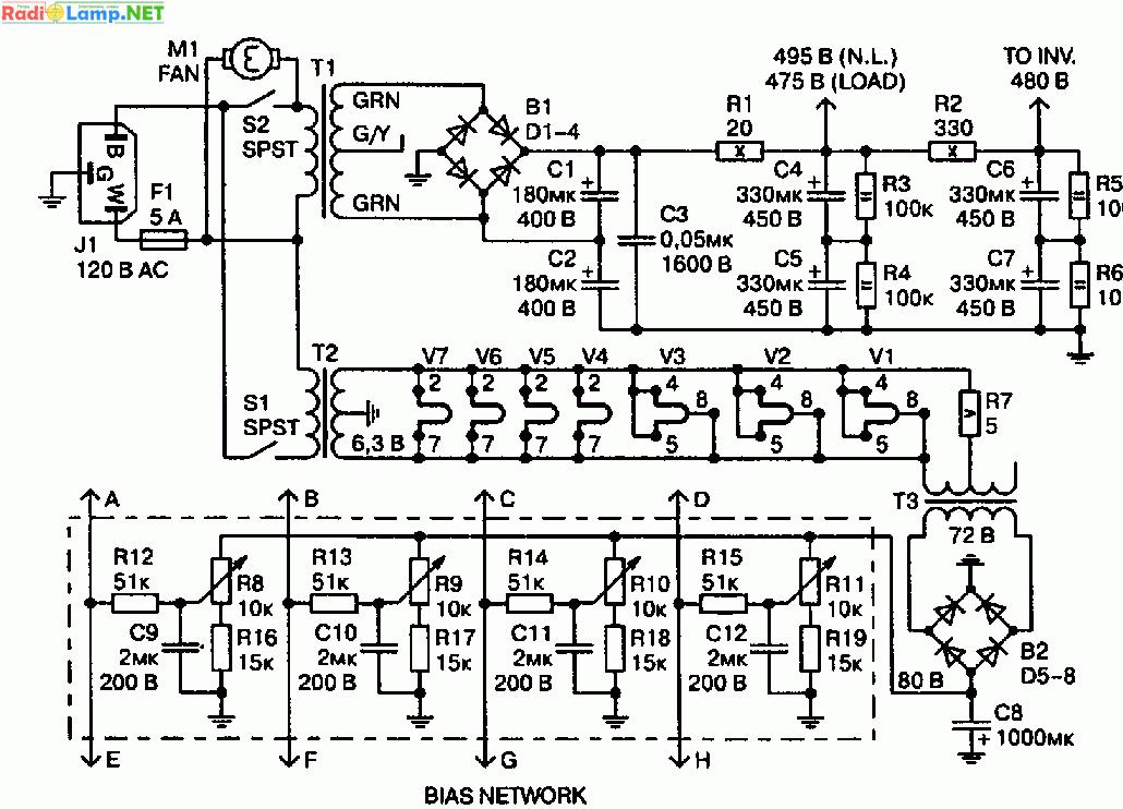 Схема фиксированного смещения