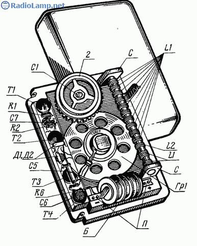 схема радиоприемника на транзисторе мп - Практическая схемотехника.