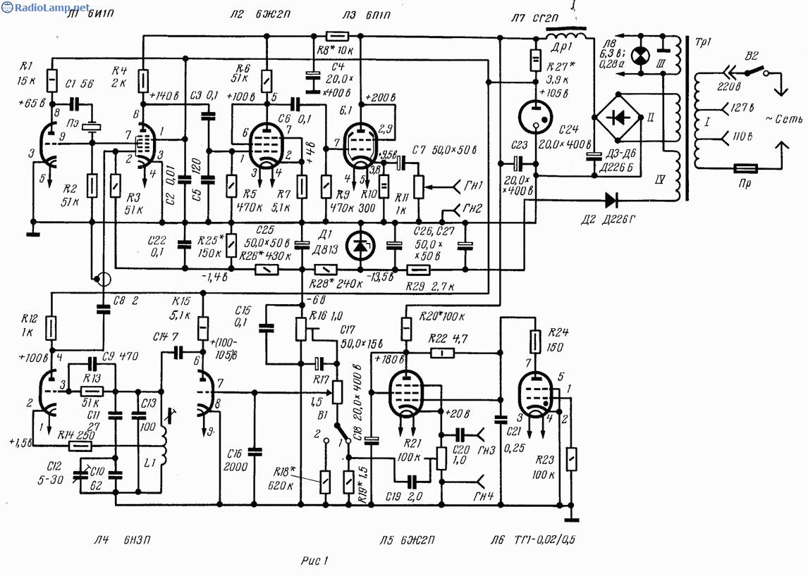 Схема простого звукового генератора фото 97