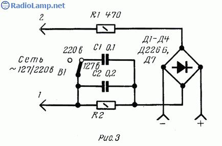 Схемы зарядных устройств для