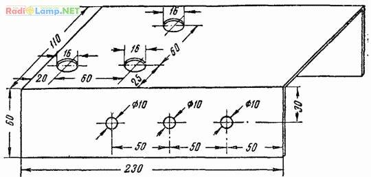 Переменный конденсатор своими руками чертежи 87