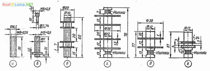 Конструкции катушек индуктивности КВ приемника