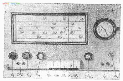 Спортивный ламповый КВ приемник на диапазоны 10-80м (6К4П. 6И1П, 6Ф3П)