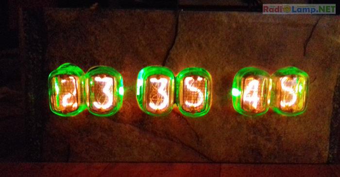 Часы на ИН-12, фото