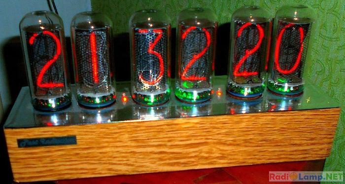 Часы на индикаторах ИН-18