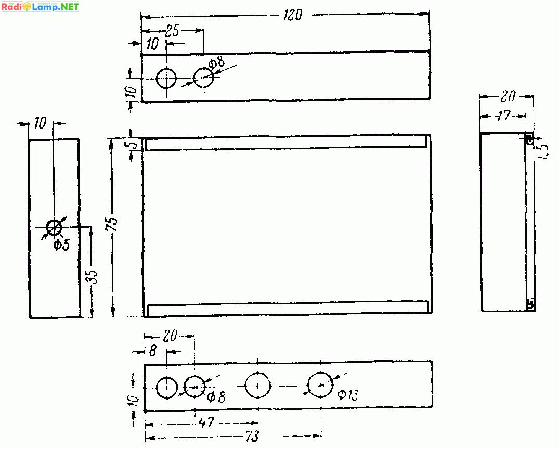 схема малогабаритной радиостанции сова 6