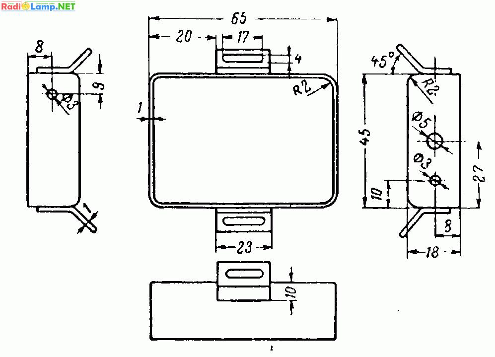 Схема трансивера на трех
