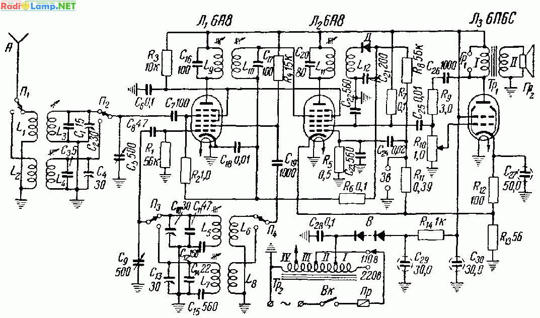 СВ-ДВ супергетеродин