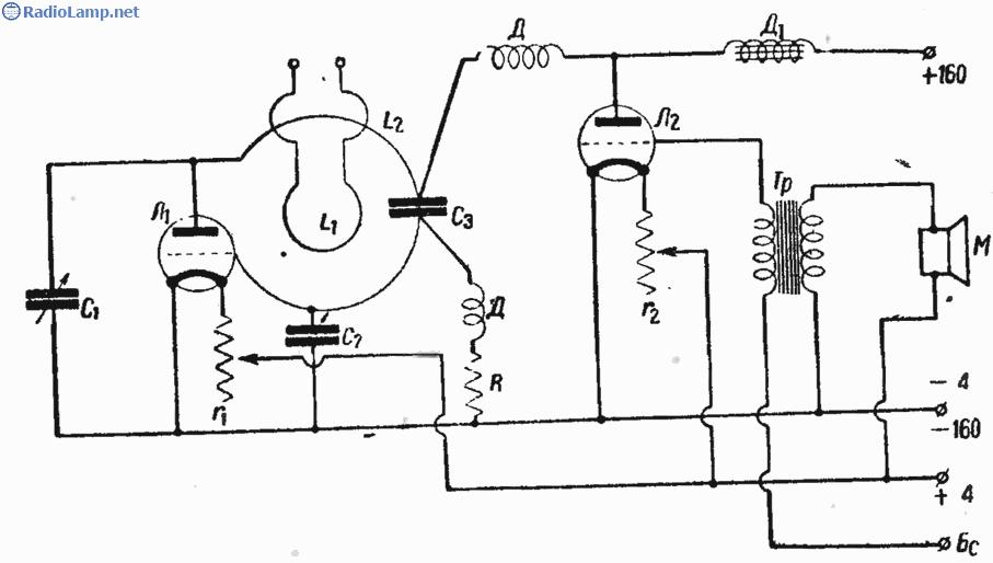 Схема УКВ (FM) передатчика на
