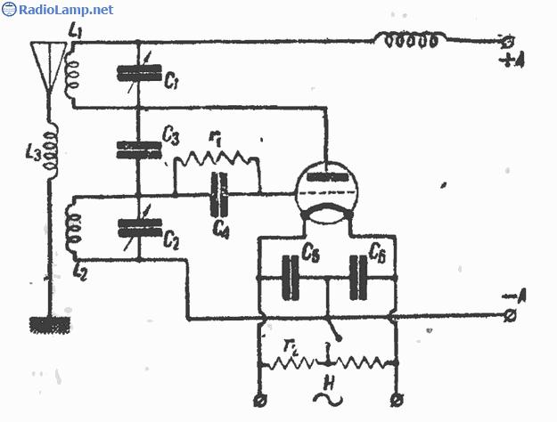Схема передатчика Хут-Кюна на