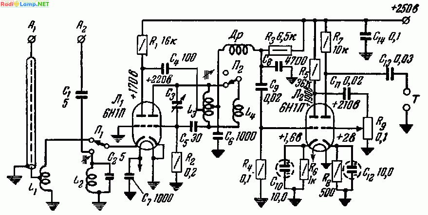 6Н1П (28,0 - 29,7 и 144 -