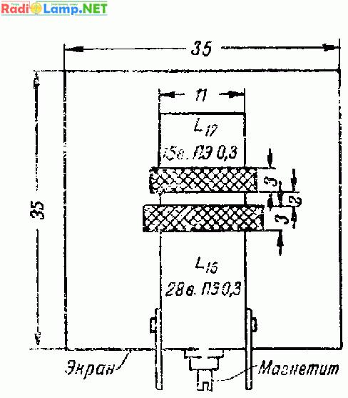 Схема простого коротковолнового приемника.