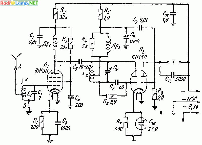 УКВ диапазон 38 - 40 Мгц