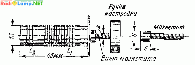 УКВ радиостанция с питанием от батарей на лампе СО-243