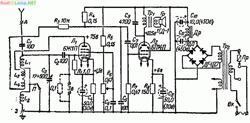 Простой радиоприемник 0-V-1