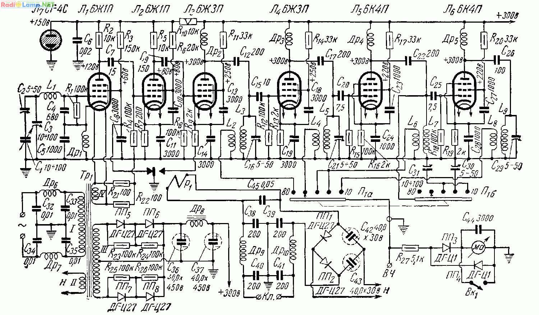 схема наматывания задающего генератора